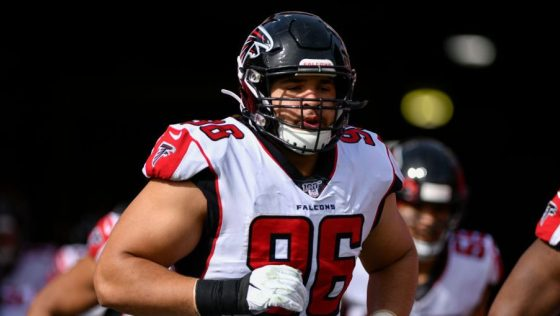 Falcons clear cap space by reworking Tyeler Davison's contract
